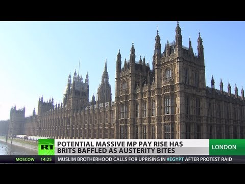 Feast in Time of Crisis: MPs pay rise causes outrage in UK