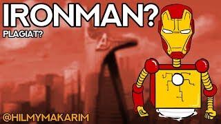 ADA IRONMAN? ROBOT?! - Kartun Lucu - Animasi dari IG @hilmymakarim