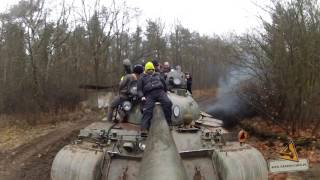 RUSSIAN TANK Fun Ride T-55