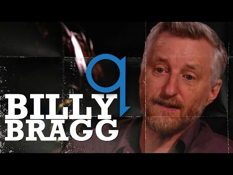 Billy Bragg, on the passing of Margaret Thatcher, in Studio Q