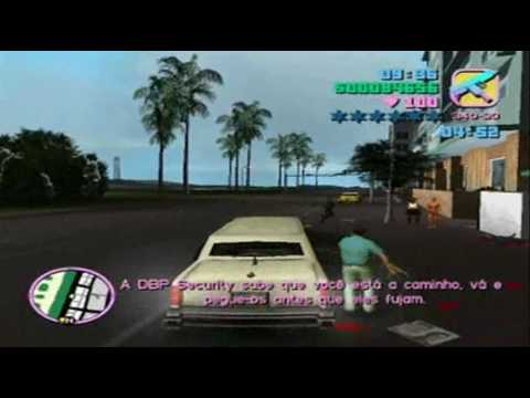 GTA Vice City / Missão 23 - Matando os Guardinha Nb!!!