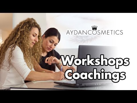 WORKSHOP & COACHING bei ♕ Aydan Cosmetics
