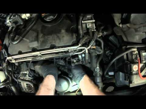 VW A4: BEW TDI Camshaft Position Sensor Replacement (Part 2)