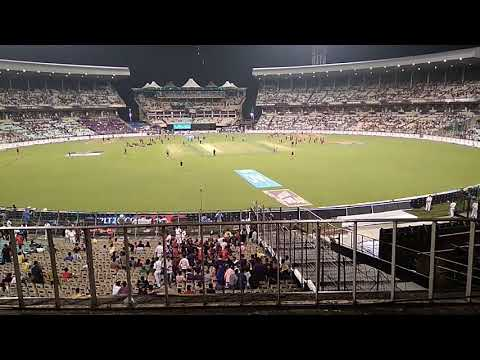 Eden gardens during KKR vs RCB Match