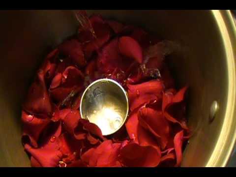 Como Hacer Agua De Rosas Parte 1