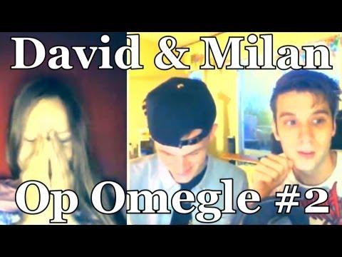 OMEGLE met FANS - David en Milan #2