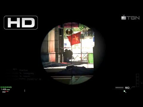 � MW3 - 100 Kill Sniper Gameplay On Pc By Groupbrett2