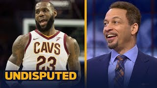 Chris Broussard thinks LeBron joining the Rockets next season could happen | UNDISPUTED
