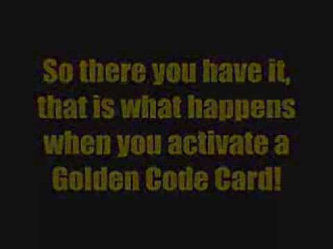 Club Penguin - Card Jitsu - Golden Code Card - Unlocked