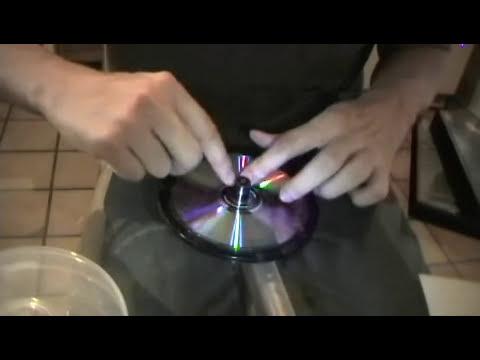 Como ponerle la etiqueta o calcomanía a tu CD o DVD