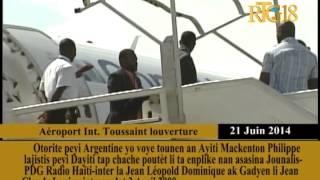 Mackenton Philippe Nan Kad Dosye Asasina Pdg Radyo Haiti Inter Jean Leopold Dominique