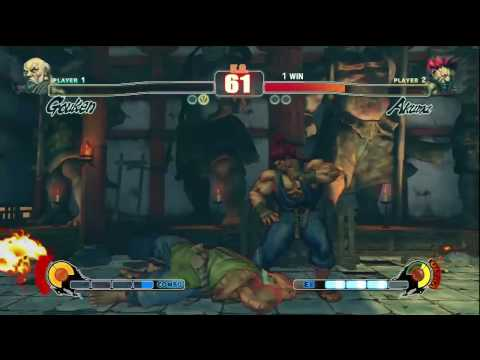 Shine (Gouken) vs Sanford Kelly (Akuma) @ Battlefield Arcadia #9 #sf4