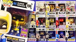 My 2017 SDCC Funko Pop Vinyl Figures Collection San Diego Comic Con Haul Video