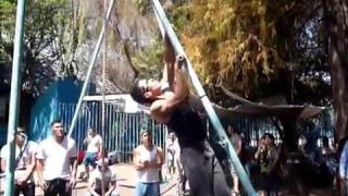 Competencia Plan Sexenal (07-03-16) Final aerea │Barras México Street Workout│