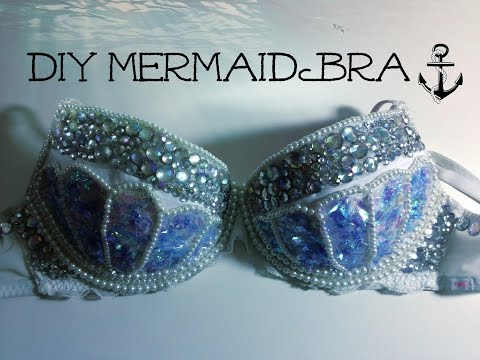 DIY MERMAID BRA