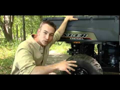 2011 Polaris RANGER Diesel and HD with Turf Mode