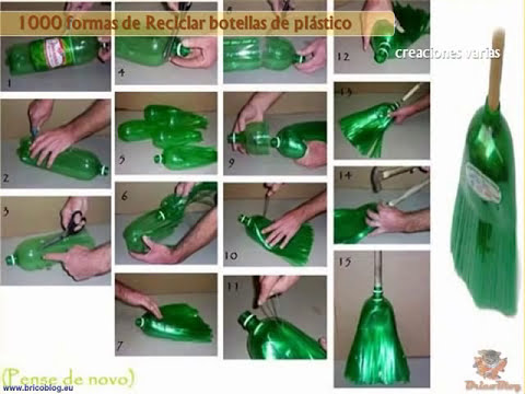 1000 ideas creativas para reciclar botellas de plastico