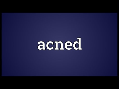 Header of ACNED