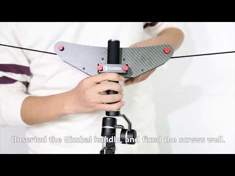 5 Mini Cablecam Little Flycat Installation of Gopro Handheld Gimbal #1