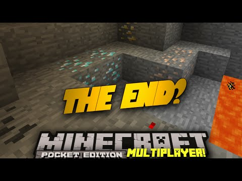 Minecraft PE Multiplayer 0.9.0 EP 7 The End PE SMP w Sean Minecraft Pocket Edition
