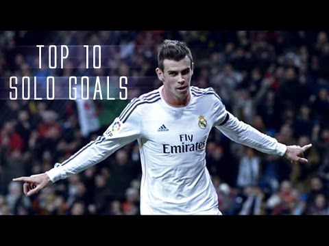 Gareth Bale  ● Top 10 Solo Goals  ● 1080p HD by AJ7 STUDIO