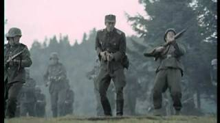 Germans attack and get killed by Yugoslav partizan sniper