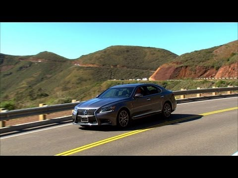 Car Tech - 2013 Lexus LS460 F Sport