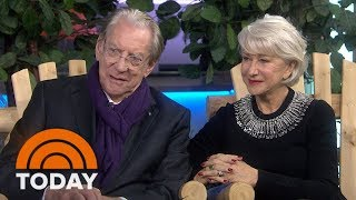 Helen Mirren And Donald Sutherland Team Up In New Movie 'The Leisure Seeker'  | TODAY