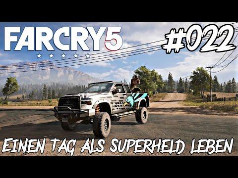 #022 Far Cry 5 Let s Play Xbox One X - Einen Tag als Superheld leben