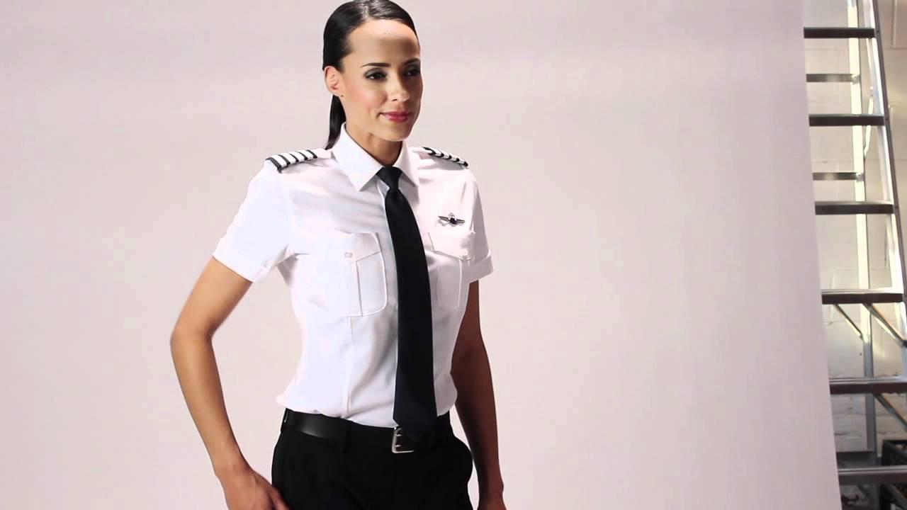 Women 39 s uniform combined youtube for Womens school uniform shirts