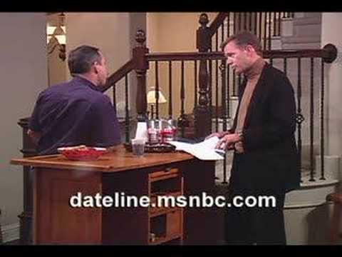 Dateline: To Catch A Predator... God, candy & Pool table sex