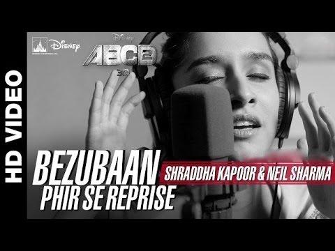 Bezubaan Phir Se (Reprise)   Disney's ABCD 2   Shraddha Kapoor   HD