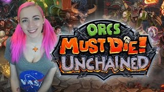 Ridiculously Fun Game: Orcs Must Die UNCHAINED (ft. Niko)