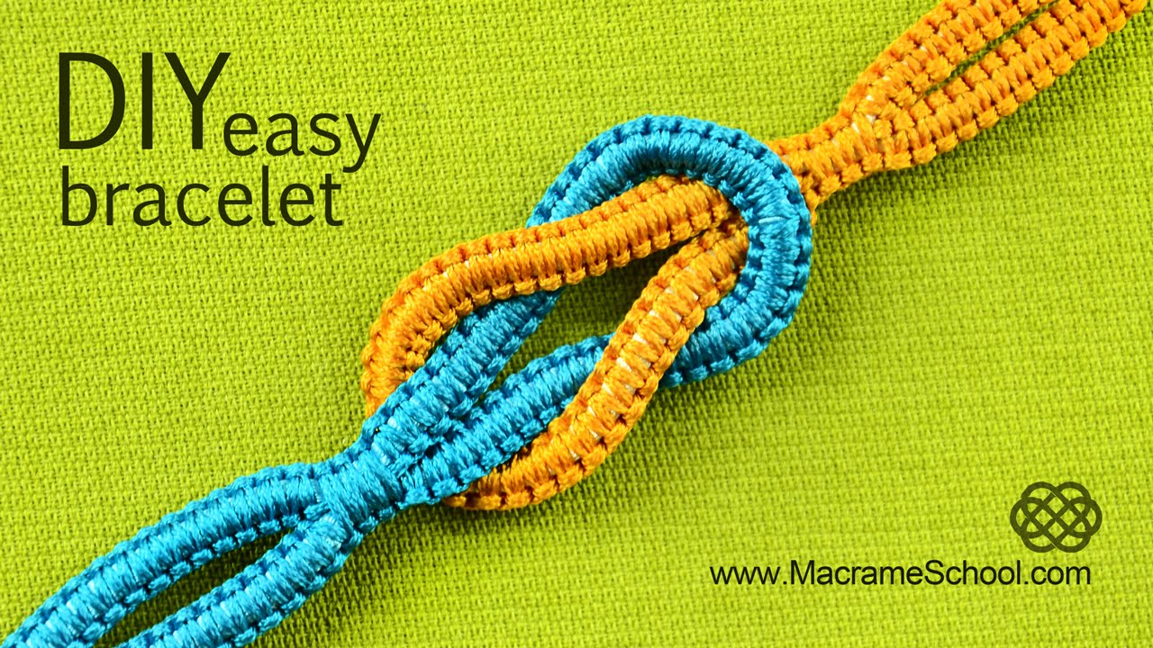 Easy Infinity Square Knot