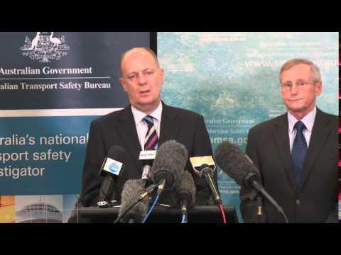 AMSA and ATSB MH370 media briefing
