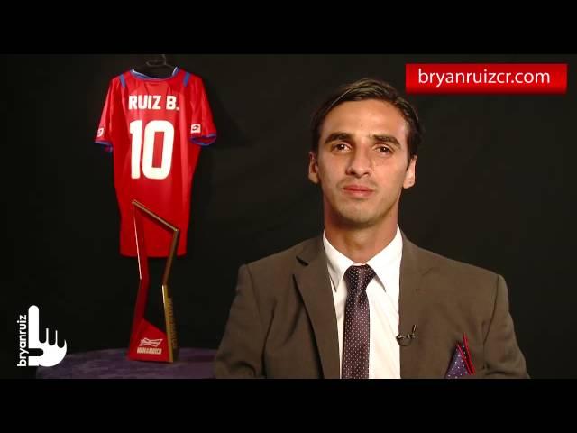Entrevista Bryan Ruiz