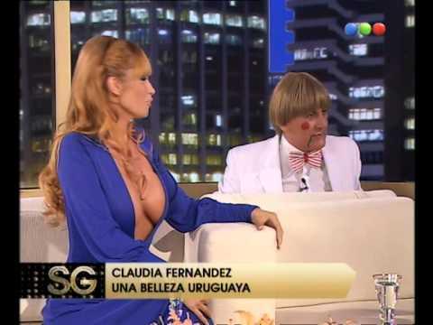 Claudia Fernandez habla de su novio - Susana Giménez