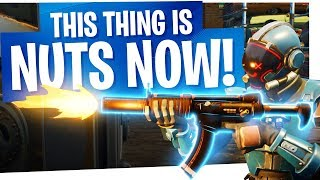 This thing is NUTS now! - Fortnite Battle Royale New Buff