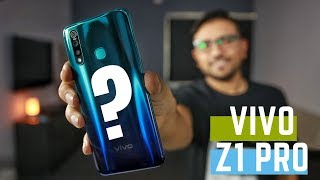 This is The Upcoming Vivo Z1Pro - Camera Beast?