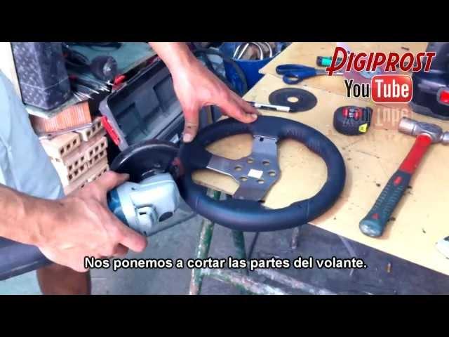 F1 2013 wheel G27mod Ps3-Pc, (Fabricacion del volante)