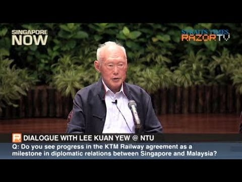 Lee Kuan Yew On Relations With Malaysia (pt 5) video