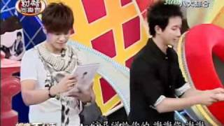 [Engsub] 100902 Han Geng @ 100% entertaiment 1/3