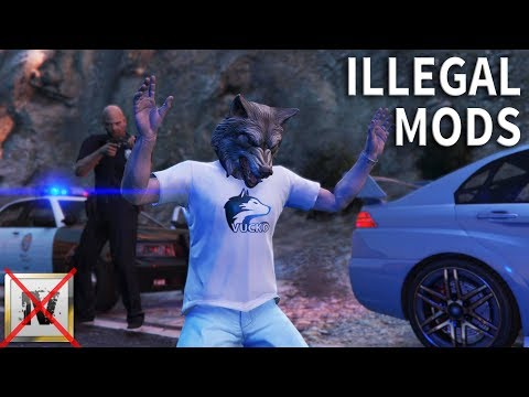 Vucko100 arrested in GTA V