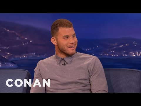 Blake Griffin On Donald Sterling's White Party  - CONAN on TBS