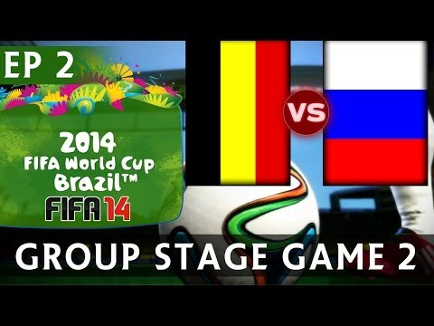 [TTB] 2014 FIFA World Cup Brazil - Belgium Vs Russia - Group Stage Game 2 - EP2