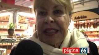 Gemma Cuervo en el Mercat de Sant Roc 9 de Diciembre de 2011