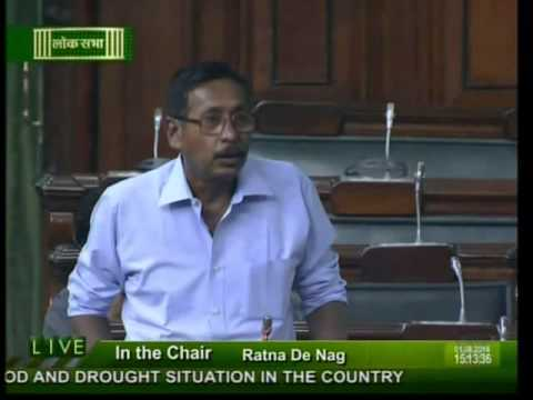 Lok Sabha: Flood and drought situation in the country: Shri Rajen Gohain: 01.08.2014