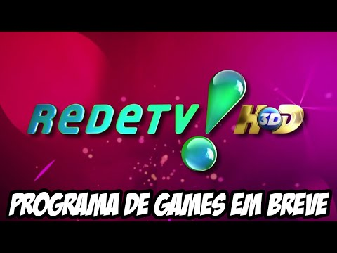RedeTV TAMBÉM vai estrear programa sobre games, CONCORRÊNCIA É IMPRESSIONANTE