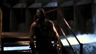 Batman vs Bane Awesome fight scene from the Dark Knight Rises