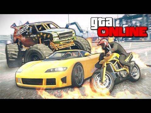 GTA 5 Online (PC) - Педаль до упора! #119